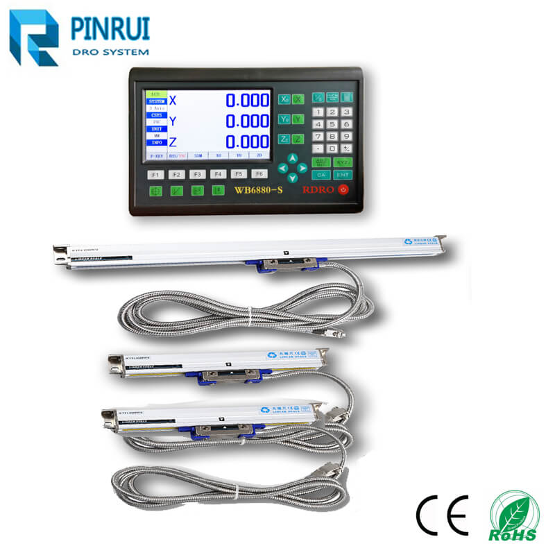 7 inch LCD digital readout dro for lathe milling machines
